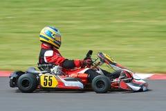 El competir con de Kart foto de archivo