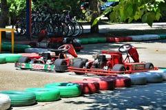 El competir con de Kart foto de archivo libre de regalías