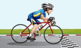 El competir con de la bici libre illustration