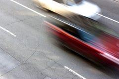 El competir con de la calle Fotografía de archivo