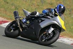 El competir con de la moto fotos de archivo