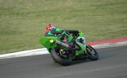 El competir con de la moto Imagenes de archivo