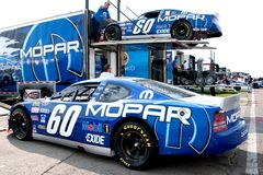 El competir con de NASCAR Imagen de archivo libre de regalías