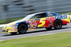 El competir con de NASCAR imágenes de archivo libres de regalías