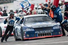 El competir con de NASCAR foto de archivo