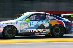 El competir con de Porsche GT3 Fotos de archivo