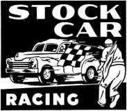 El competir con de stock car Fotos de archivo