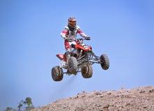 El competir con del motocrós Imágenes de archivo libres de regalías