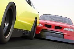 El competir con extremo del motorsports Imágenes de archivo libres de regalías