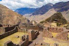El complejo arqueológico de Pisac Imagen de archivo libre de regalías
