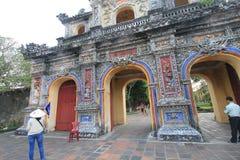 El complejo de Hue Monuments en Vietnam Foto de archivo libre de regalías