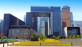 El complejo del Consejo Legislativo, Hong-Kong Imagenes de archivo