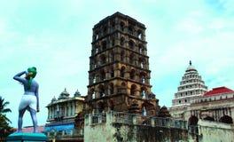 El complejo del palacio del maratha del thanjavur Imagen de archivo libre de regalías