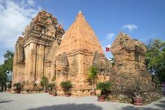 El complejo del templo antiguo de po Nagar La atracción principal en Nha Trang Vietnam Imagen de archivo