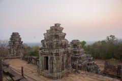 El complejo del templo de Angkor Imagenes de archivo