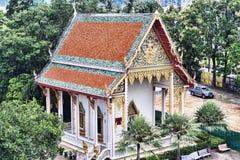 El complejo del templo de Wat Chalong en el distrito de Phuket, Tailandia Fotografía de archivo libre de regalías