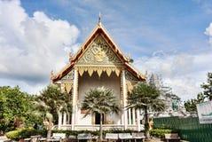 El complejo del templo de Wat Chalong en el distrito de Phuket, Tailandia Imágenes de archivo libres de regalías