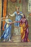 El compromiso de la Virgen María Imagen de archivo
