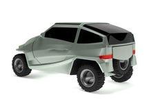 El concepto campo a través del coche se nombra Rex Imagen de archivo
