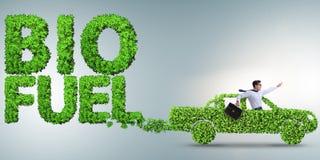 El concepto de bio preservación del combustible y de la ecología fotografía de archivo