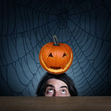 El concepto de día de fiesta Halloween Imágenes de archivo libres de regalías