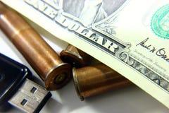 El concepto de guerra Costos para el armamento imágenes de archivo libres de regalías