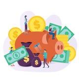 El concepto de inversión libre illustration