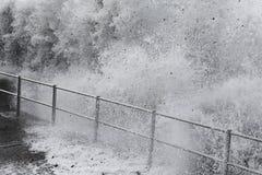 Onda del tsunami Foto de archivo