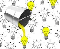 El concepto de las ideas Foto de archivo libre de regalías