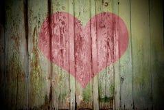El concepto del día de tarjeta del día de San Valentín Fotos de archivo libres de regalías