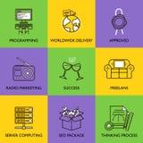 El concepto del negocio Imagenes de archivo