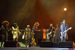 El concierto de Kravitz lenny en el autodrom de Sochi Fotos de archivo libres de regalías