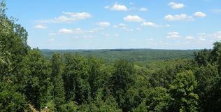 El condado de Brown Vista foto de archivo libre de regalías
