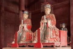 El condado de Fushun, pasillo de Fushun dedicó estatua del templo de Confucio a la gran imagen de archivo