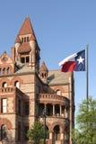 El condado de Hopkins Texas Courthouse Imagenes de archivo