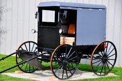 El condado de Lancaster, PA: Cochecillo tradicional de Amish Fotos de archivo libres de regalías