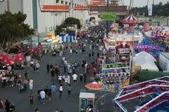 El condado de Los Angeles favorablemente intermediario Fotografía de archivo
