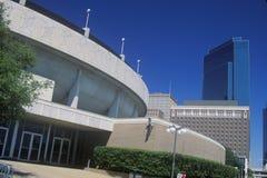 El condado de Tarrant Convention Center, pie Valor, TX Fotografía de archivo