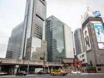 El condado resuelve los rascacielos, Tokio, Japón imágenes de archivo libres de regalías