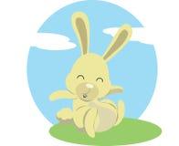 El conejo Foto de archivo libre de regalías