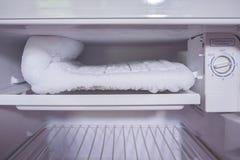 El congelador del refrigerador fotos de archivo libres de regalías