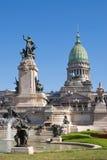 El congreso nacional en Buenos Aires Imagenes de archivo