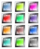 El conjunto de botones del Web Fotos de archivo libres de regalías