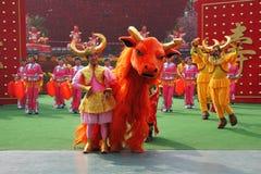El conjunto de la danza en trajes del deslumbramiento Imagen de archivo libre de regalías
