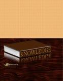 El conocimiento es clave ilustración del vector