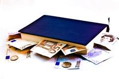 El conocimiento es dinero Imagen de archivo libre de regalías