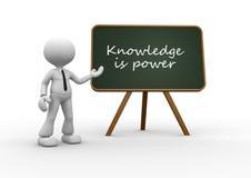 El conocimiento es poder. libre illustration