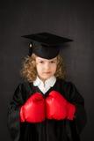 El conocimiento es potencia Foto de archivo libre de regalías
