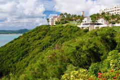 El conquistadore, puerto rico. El conquistadore resort lies high above the carribean, on the northeast coast of puerto rico Royalty Free Stock Photos