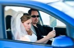 El conseguir listo para la boda Fotografía de archivo libre de regalías